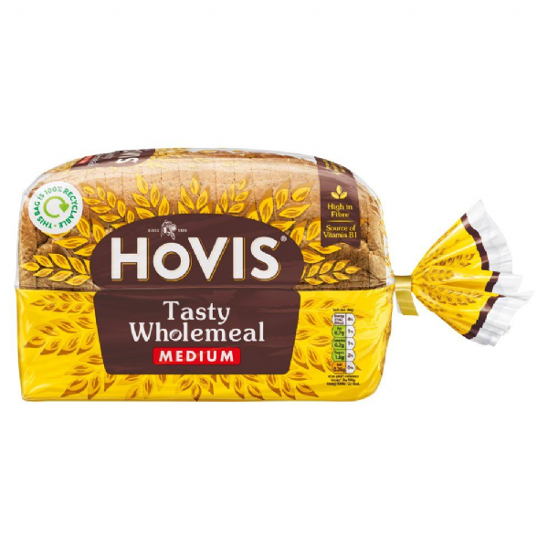 Hovis Tasty Wholemeal Bread 800g